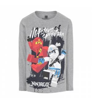 Lego M-22654 T-Shirt Jr Ls Grey Melange tričko