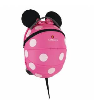 Littlelife Disney Kids Backpack 4l Pink Minnie batoh
