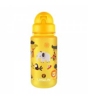 Littlelife Water Bottle Safari fľaša na vodu 400 ML