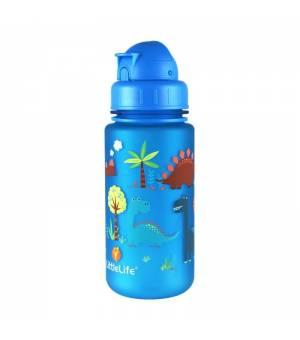 Littlelife Water Bottle Dinosaurus fľaša na vodu 400 ML