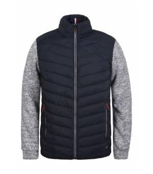Luhta Juoksinki Jacket M Dark Blue/Melange Grey mikina
