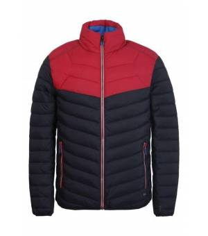 Luhta Jalkaranta M Jacket Black / Red bunda