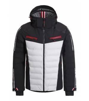 Luhta Hassala M Ski Jacket Black and White bunda