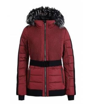 Luhta Ersta Ski Jacket W Red bunda