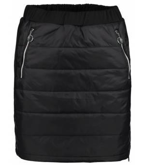 Luhta Edelniemi Skirt Black sukňa