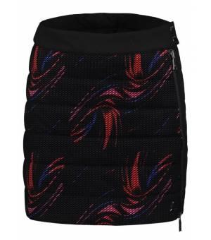Luhta Paihkasvaara W Skirt Black / Red / Blue / Pink sukňa