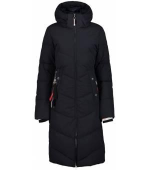 Luhta Ikkamo W Coat Black Blue kabát