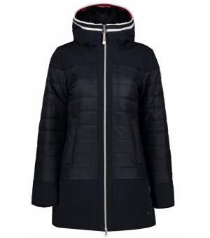 Luhta Iisinki W Coat Black Blue kabát