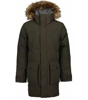 Luhta Jakova M Coat Dark Olive kabát