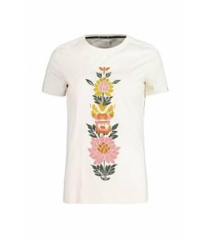 Maloja Lasendam. W Vintage White tričko