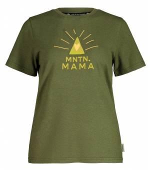 Maloja Mountain Mamam. W Moss tričko
