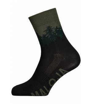 Maloja Bibernellem. Moss ponožky