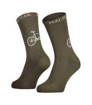 Maloja Stalkm. Moss ponožky