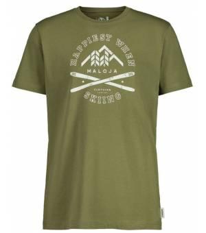 Maloja Graueulem. Moss M T-Shirt tričko