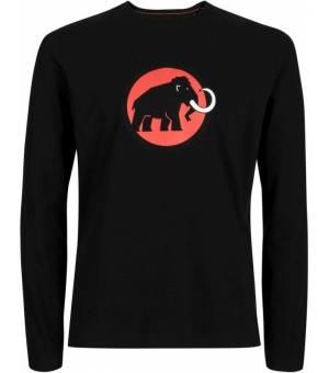 Mammut Logo Longsleeve Black tričko