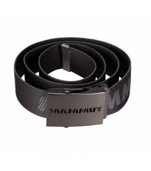 Mammut Logo Belt Black Titanium opasok