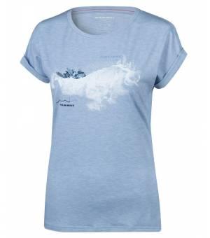 Mammut Mountain W T-Shirt zen melange/prt2 tričko
