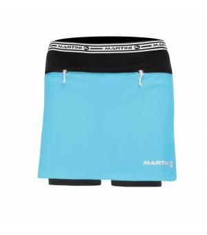Martini Mindset Skirt with Shorts W Blue sukňa s kraťasmi