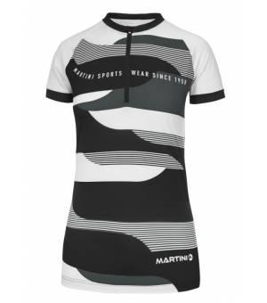 Martini Selvetica Shirt W black/steel cyklotričko