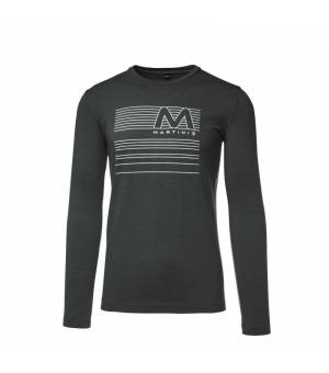 Martini Effort M T-Shirt Steel tričko s dlhým rukávom