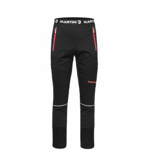 Martini Fast Unisex Pants Black / Hot Fire nohavice