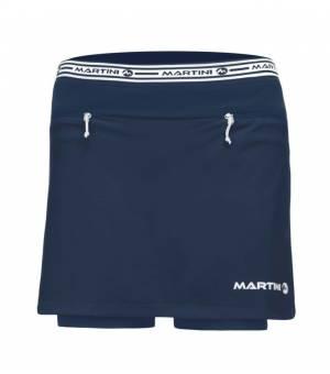 Martini Mindset W True Navy sukňa + kraťasy