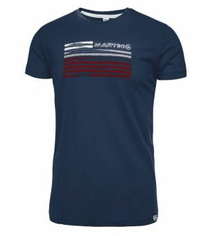 Martini Perfect Match M True Navy tričko