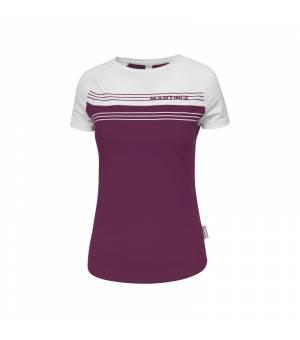 Martini Enjoy Life W Purple Magic/White tričko