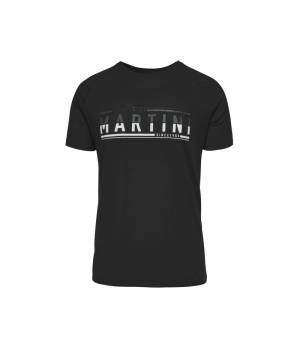 Martini Motivation M Black/Steel tričko