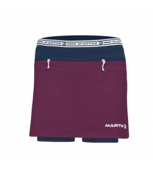 Martini Mindset W Purple Magic/True Navy sukňa + kraťasy