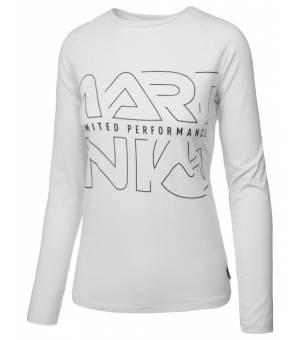 Martini Favour W T-Shirt White tričko s dlhým rukávom