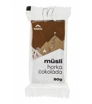 Marva Müsli tyčinka s horkou čokoládou MÜSLI HORKÁ ČOKOLÁDA 50g