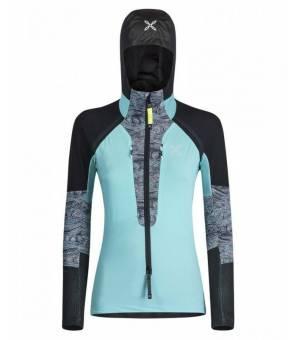 Montura Skisky Grade W maglia ice blue/fantasia 16 bunda