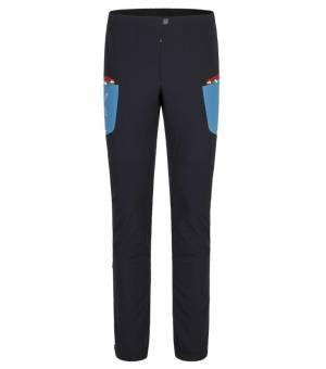 Montura Ski Style M Pants nero/blu ottanio nohavice