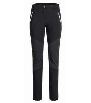 Montura Cadore Pants Women Nero/Ice Blue nohavice