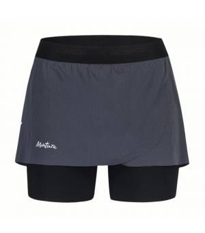 Montura Run K Shorts Women Piombo kraťasy