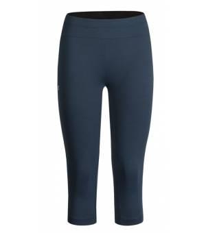 Montura Sporty 3/4 Pants Women Blu Cenere/Bianco kraťasy