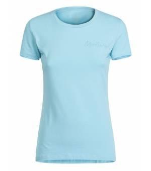 Montura Illusion T-shirts Women Ice Blue tričko
