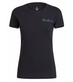 Montura Illusion T-shirts Women Nero tričko