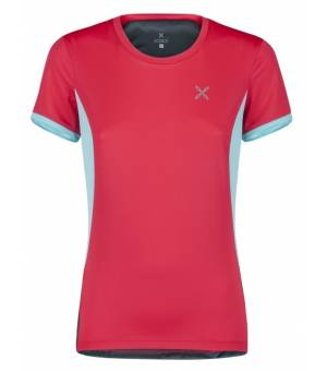 Montura World Mix T-shirt Women Rosa Sugar/Ice Blue tričko