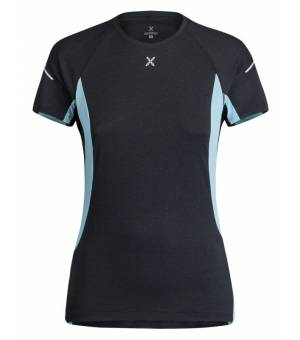 Montura Run Energy T-shirt Women Antracite/Ice Blue tričko