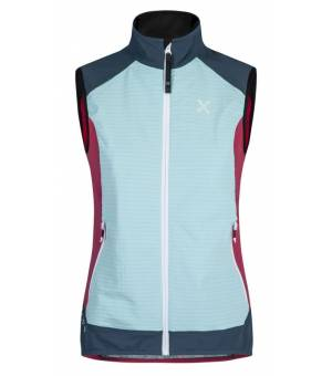 Montura Wind Revolution Vest Women Ice Blue/Rosa Sugar vesta