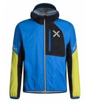 Montura Rain Save M Jacket Celeste/Verde Marcio bunda