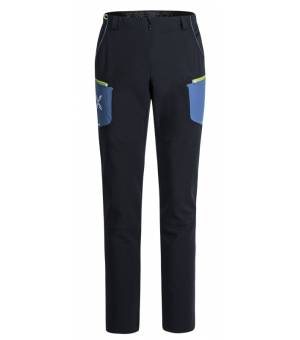 Montura Brick M Pants Nero/Blu Ottanio nohavice