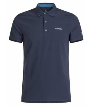 Montura Strech Light Polo M T-shirt Blu Notte/Blu Ottanio tričko