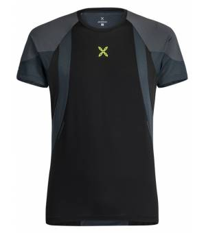 Montura Spirit 2 M T-shirt Nero/Piombo tričko