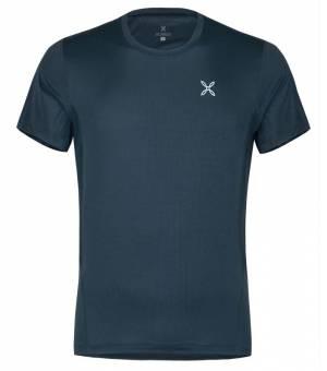 Montura Outdoor World M T-shirt Blu Cenere tričko