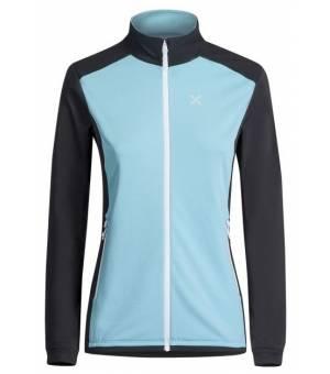 Montura Stretch Pro 2.0 W Jacket ice blue/bianco mikina