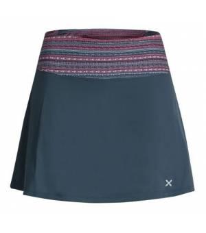 Montura Sensi Smart W Skirt+Shorts blu cenere/fantasia 18 sukňa