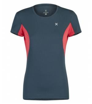 Montura Outdoor Perform 3 W T-Shirt blu cenere/rosa sugar